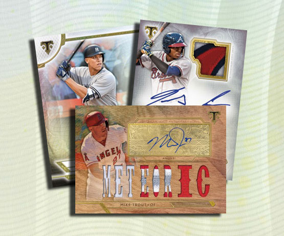 2018 Topps Triple Threads Baseball