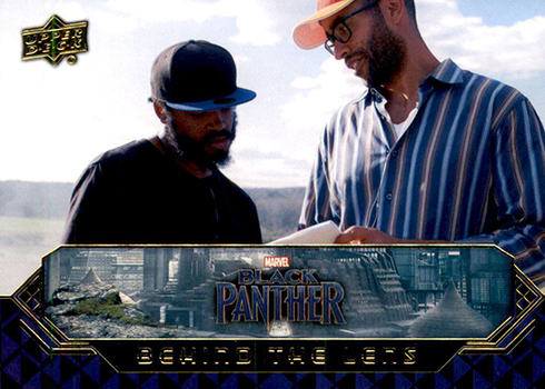 2018 Upper Deck Black Panther Behind the Lens