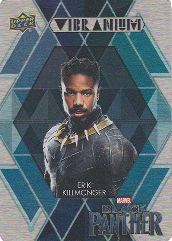 2018 Upper Deck Black Panther Vibranium