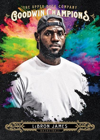 2018 Upper Deck Goodwin Champions Splash of Color LeBron James