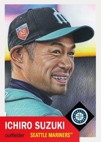 Topps Living Set 25 Ichiro Suzuki