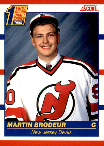 1990-91 Score Canadian Martin Brodeur Rookie Card