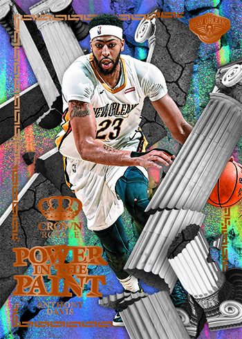 2017-18 Panini Crown Royale Basketball Power in the Paint