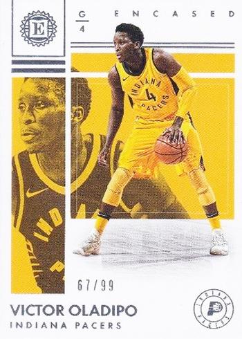 2017-18 Panini Encased Basketball Victor Oladipo