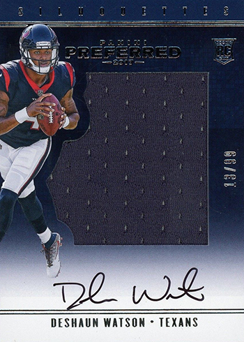 f07476e7 Most Valuable Deshaun Watson Rookie Card Rankings and Guide