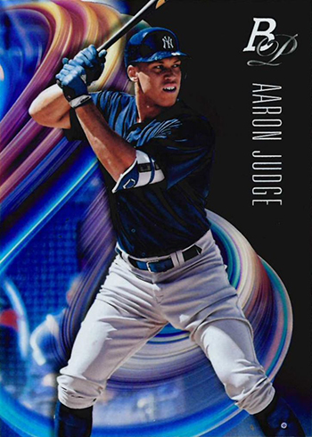2018 Bowman Platinum Baseball Aaron Judge