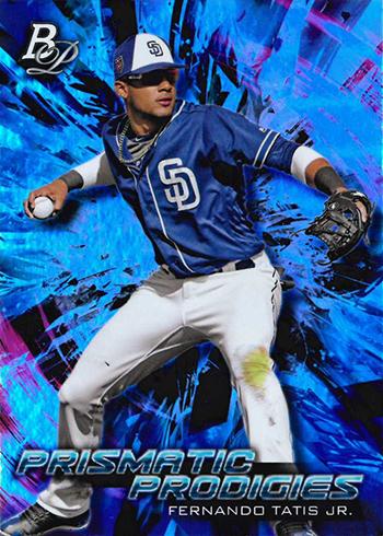 2018 Bowman Platinum Baseball Prismatic Prodigies Fernando Tatis Jr