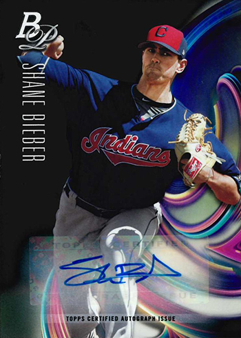 2018 Bowman Platinum Baseball Top Prospects Autographs Trevor Bieber