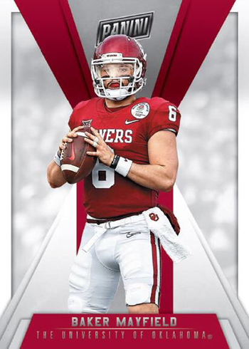 2018 Panini National Sports Collectors Convention VIP Baker Mayfield