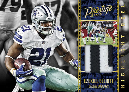 2018 Panini Prestige Football Highlight Reel Jersey