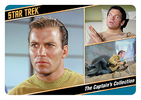 2018 Rittenhouse Star Trek TOS Captains Collection Promo Card P2