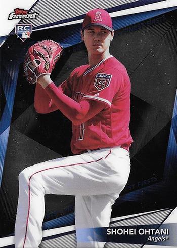 2018 Topps Finest Baseball Finest Firsts Shohei Ohtani