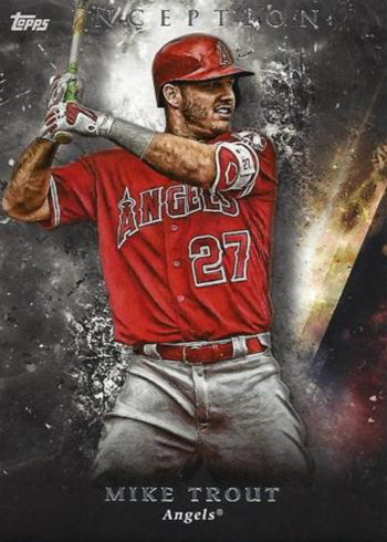 2018 Topps Inception Mike Trout