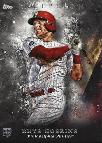 2018 Topps Inception Baseball Rhys Hoskins RC
