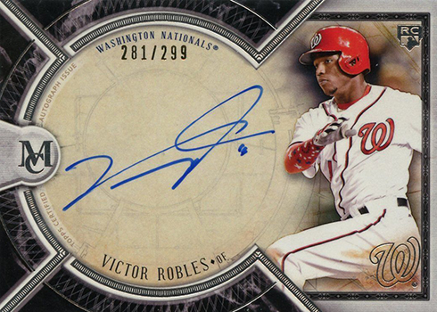 2018 Topps Museum Collection Baseball Archival Autographs Victor Robles