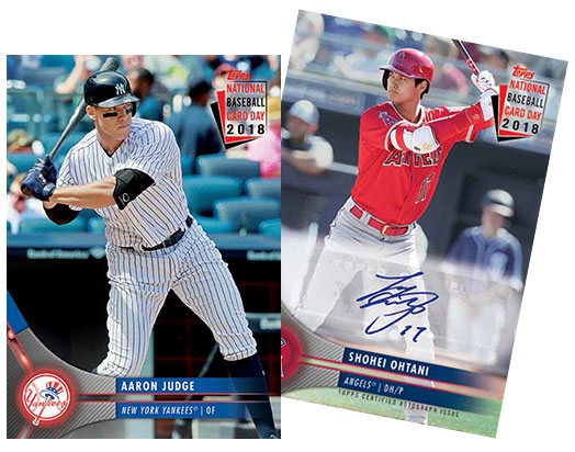 2018 Topps National Baseball Card Day Checklist Details