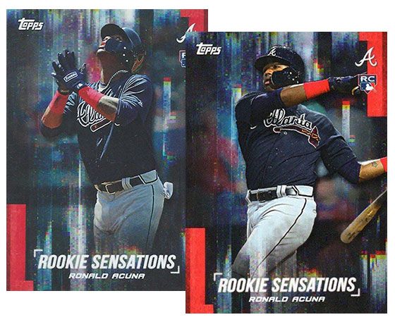 2018 Topps On Demand Rookie Sensations Variations Ronald Acuna