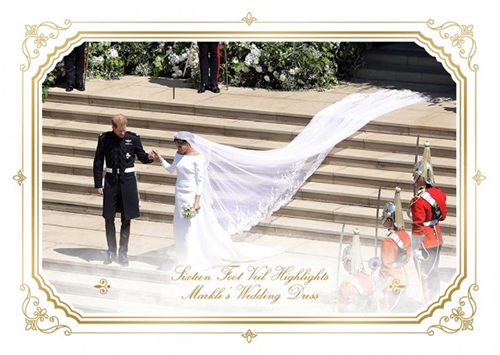 2018 Topps On Demand Royal Wedding Veil