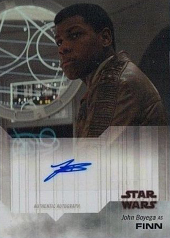 2018 Topps On Demand Star Wars The Last Jedi John Boyega Autograph