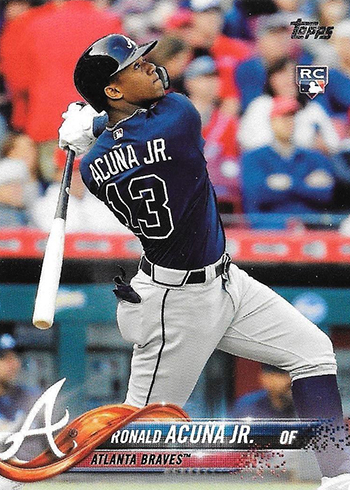 2018 Topps Series 2 Ronald Acuna