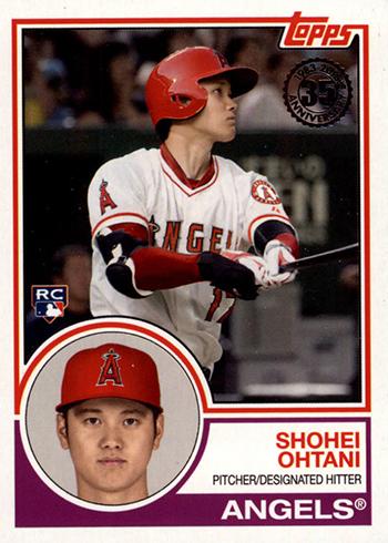 2018 Topps Series 2 1983 Topps Rookies Shohei Ohtani
