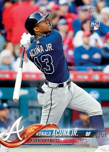 2018 Topps Series 2 Variations Ronald Acuna