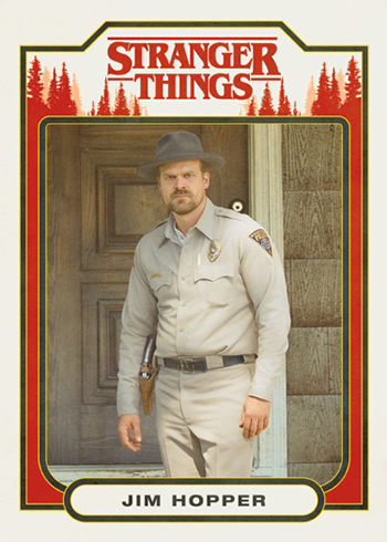Complete Character 20 Card Chase set 2018 Stranger Things Season 1
