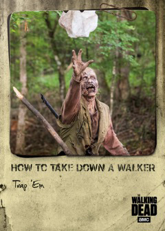 2018 Topps Walking Dead: Hunters and the Hunted How to Take Down a Walker