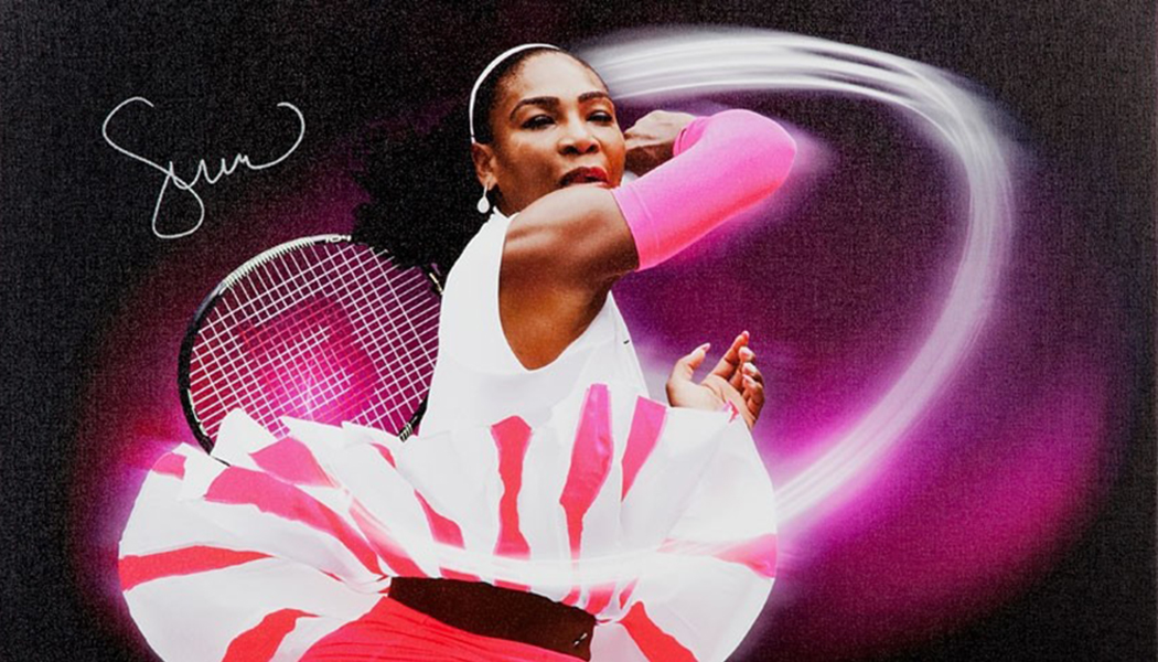 30d7e58a9a3c Serena Williams Signs Exclusive Autograph Deal with Upper Deck. Tennis ...