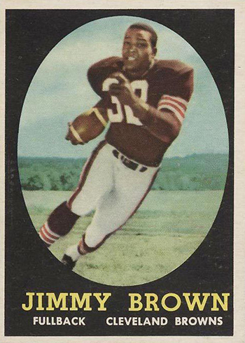 1958 Topps Jim Brown RC