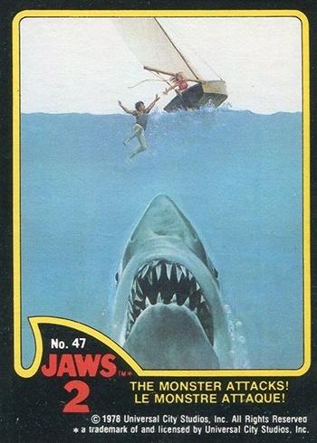1978 O-Pee-Chee Jaws 2 47