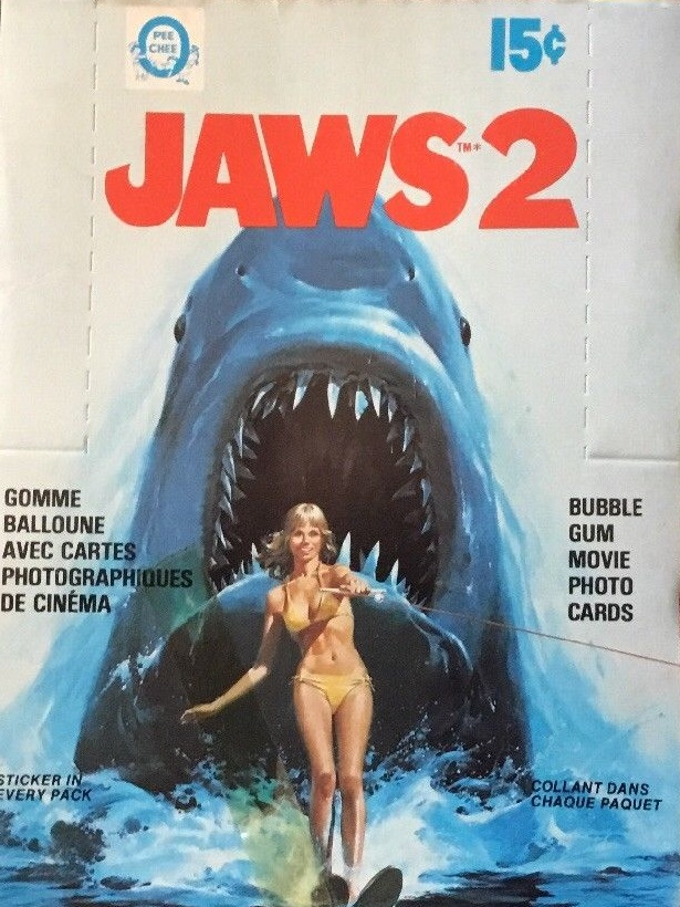 1978 O-Pee-Chee Jaws 2 Box