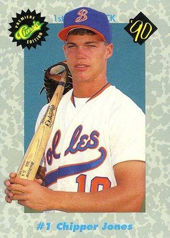 Comprehensive Chipper Jones Rookie Card And Minor League