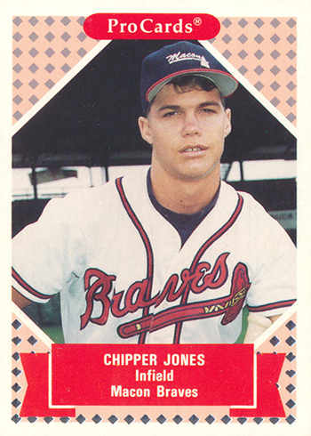 Comprehensive Chipper Jones Rookie Card And Minor League Card Guide