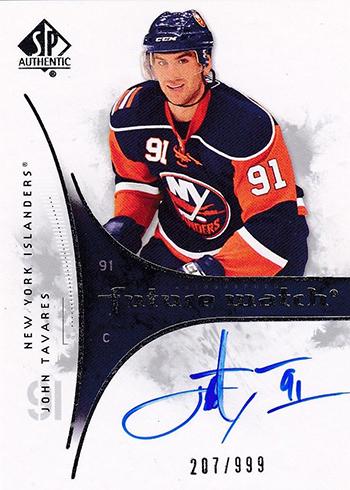 2009-10 SP Authentic John Tavares Rookie Card