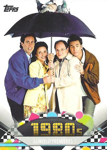 2011 Topps American Pie 162 Seinfeld Premieres