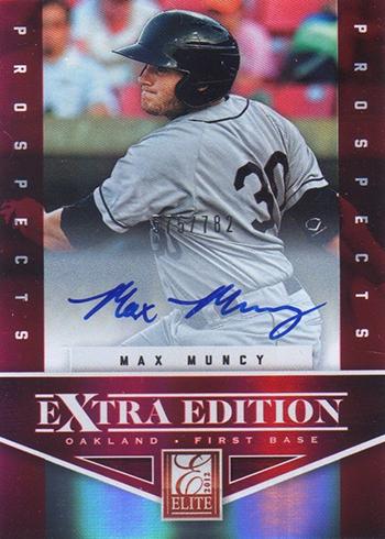 2012 Elite Extra Edition Max Muncy Autograph