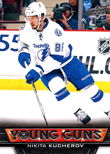 2013-14 Upper Deck Nikita Kucherov RC Young Guns