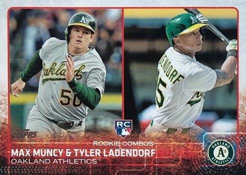 2015 Topps Update Max Muncy Tyler Ladendorf
