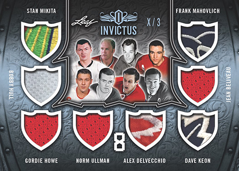 2017-18 Leaf Invictus Hockey 8