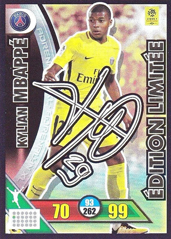 wholesale dealer 684a4 ed202 10 Important Kylian Mbappe Cards and Stickers from Early in ...