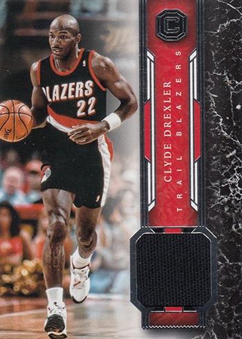 2017-18 Panini Cornerstones Basketball Memorabilia Clyde Drexler