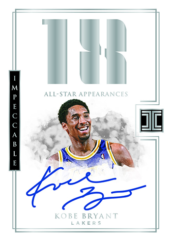 2017-18 Panini Impeccable Basketball All-Star Autographs