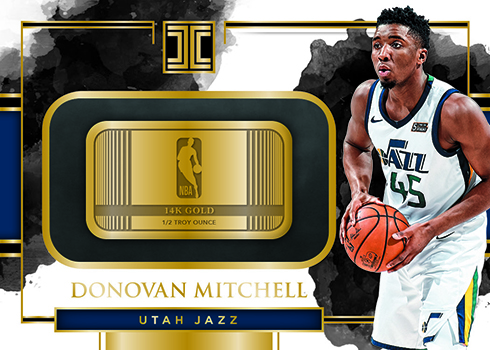 2017-18 Panini Impeccable Basketball Gold NBA Stars