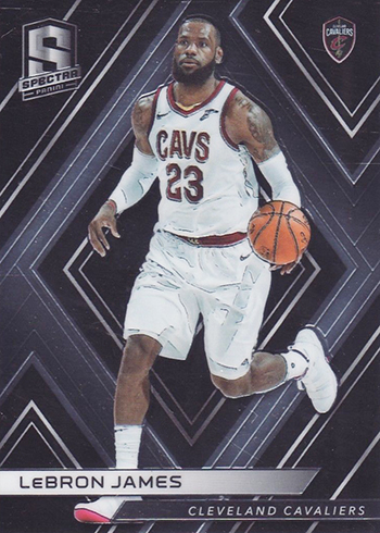 2017-18 Panini Spectra Basketball LeBron James