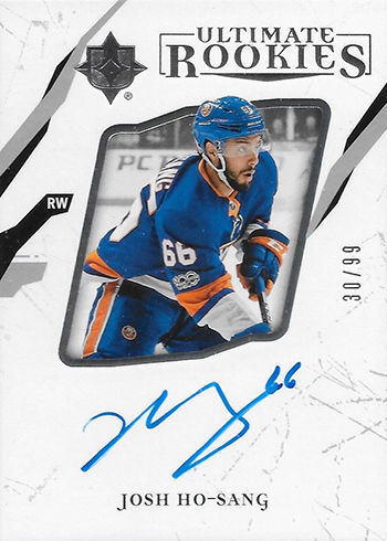 281812aa2 2017-18 Upper Deck Ultimate Collection Hockey Josh Ho-Sang