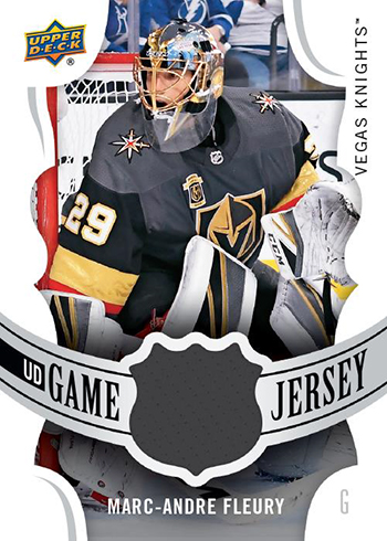 2018-19 Upper Deck Series 1 Hockey UD Game Jersey