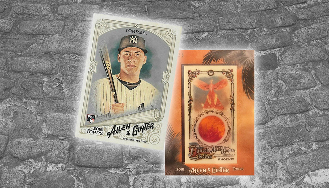 Unannounced 2018 Allen Ginter Surprises And What To Be On