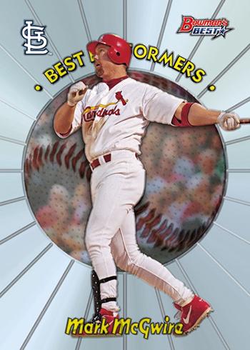 2018 Bowman's Best Baseball 1998 Best Performers
