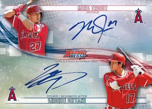 2018 Bowman's Best Baseball Dual Autograph